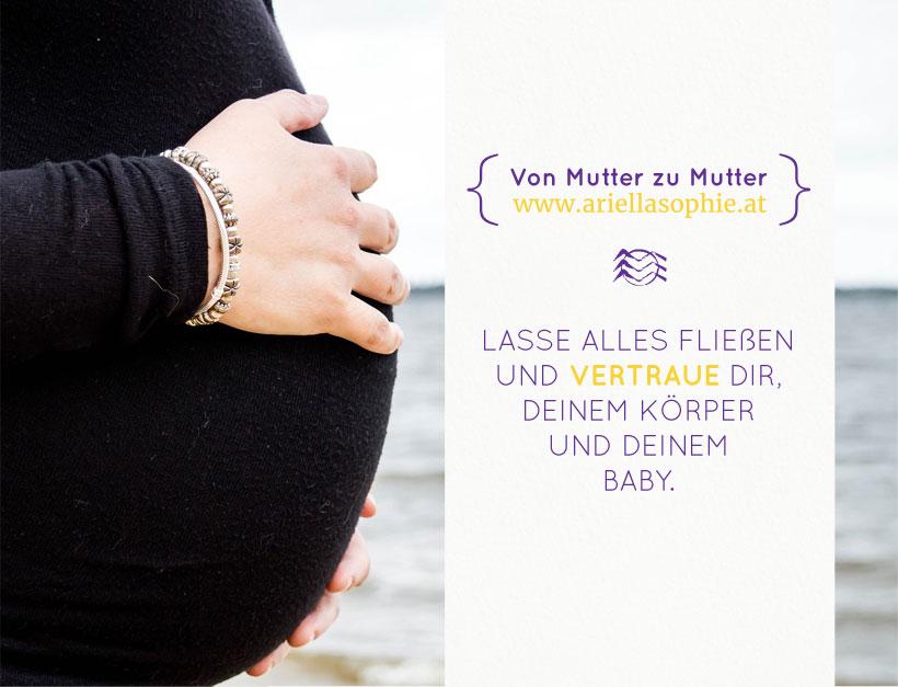 Schwangerschafts-Untersuchungen. Oder: Sorgen bereits vor der Geburt