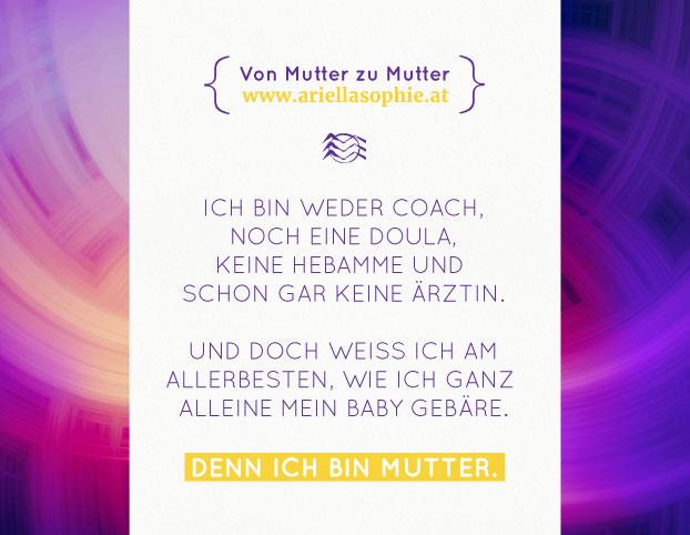 {Ich bin Mutter}