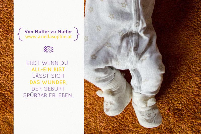 {GEBURTSBERICHT} Meine erste Allein-Geburt. Oder: Jetzt aber richtig!